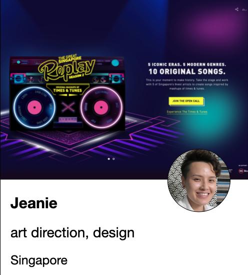Jeanie - art director