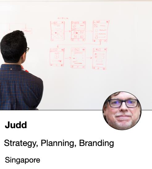 Judd - strategist