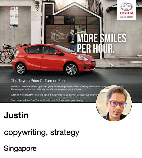 Justin - writer