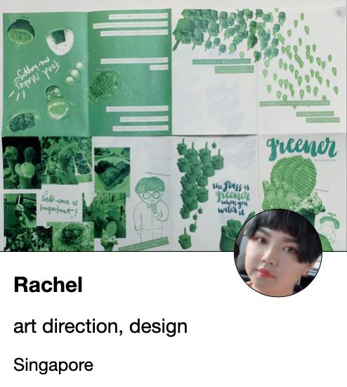 Rachel - designer