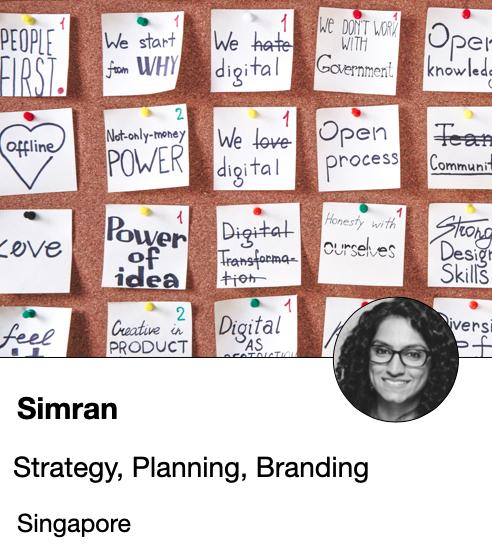 Simran - Strategist