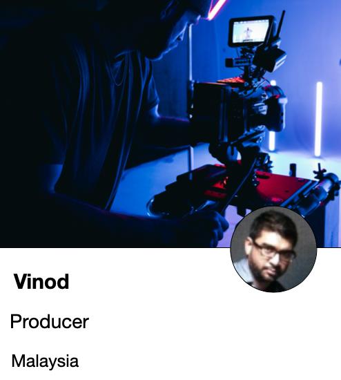 Vinod - producer